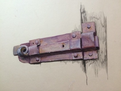 大家有见过这样的锁么?