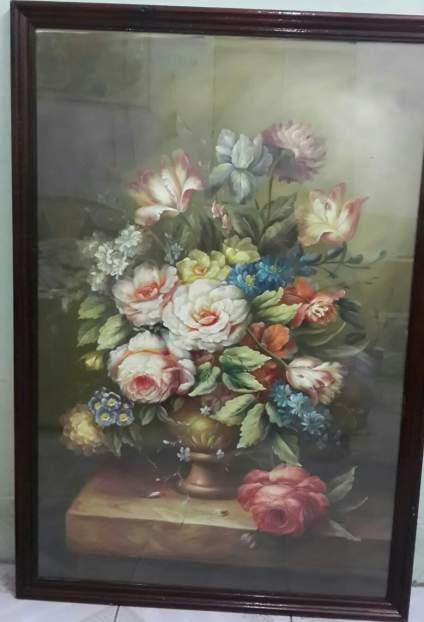 找到老妈十几年前画的油画,卧槽!卧槽!卧槽!