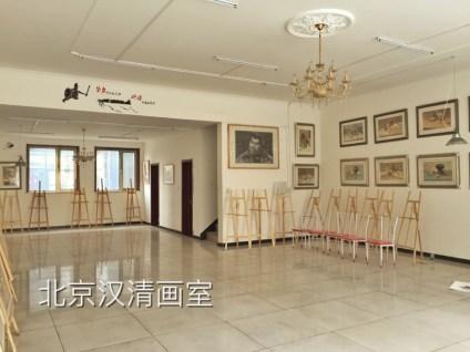 北京汉清画室,花园式校园,高大上的学习环境,公寓式宿舍,同学们,你们即将